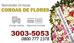 Coroa de Flores Vitória - Coroas de Flores para Velório