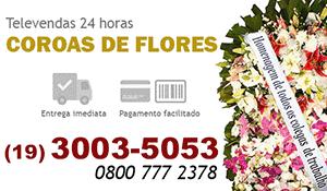 Coroa de Flores Valinhos - Coroas de Flores para Velório