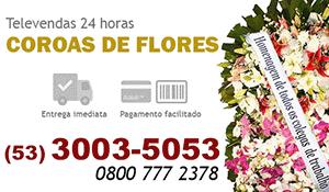 Coroa de Flores Pelotas - Coroas de Flores para Velório