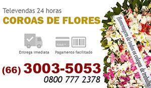Coroa de Flores Rondonópolis - Coroas de Flores para Velório