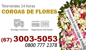 Coroa de Flores Corumbá - Coroas de Flores para Velório