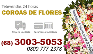 Coroa de Flores Rio Branco - Coroas de Flores para Velório