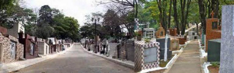 Coroas de Flores Cemitério Municipal de Barueri - SP