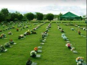 Coroas de Flores Cemitério Jardim da Colina - São Bernardo do Campo - SP