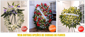 Coroas de Flores Cemitério de Santa Felicidade – Curitiba