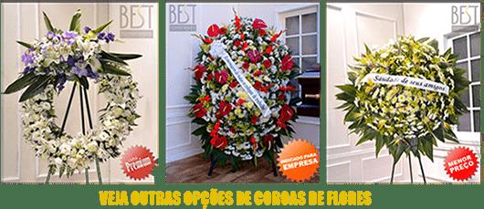 Coroas de Flores Cemitério São Jorge