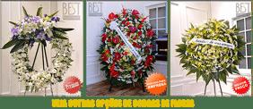 Coroas de Flores Cemitério Irmandade do Santíssimo Sacramento NS Conceição