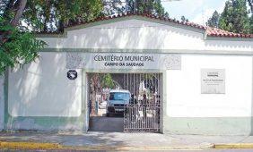 Coroas de Flores Cemitério Municipal Campo da Saudade Jacareí – SP