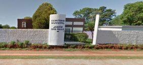 Coroas de Flores Cemitério Municipal Jardim São Paulo Foz do Iguaçu – PR