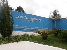 Coroas de Flores Cemitério Municipal São Benedito Guararema – SP