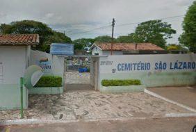 Coroas de Flores Cemitério Municipal São Lázaro Araguaína – TO