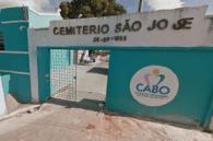 Coroas de Flores Cemitério São José Cabo de Santo Agostinho – PE