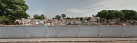 Coroa de Flores Cemitério Municipal de General Salgado – SP