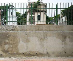 Coroa de Flores Cemitério Municipal de Lavínia – SP