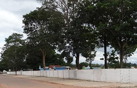 Coroa de Flores Cemitério Municipal de Campo Novo de Rondônia - RO