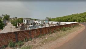 Coroa de Flores Cemitério Municipal de Candeias do Jamari – RO