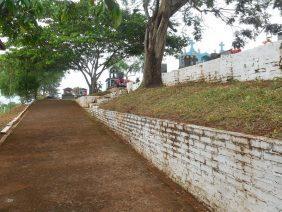 Coroa de Flores Cemitério Municipal de Corumbiara - RO