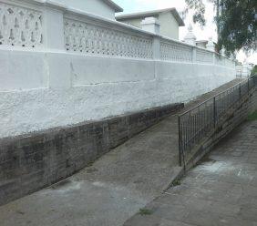 Coroa de Flores Cemitério Municipal de Novo Horizonte do Oeste - RO