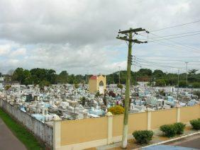 Cora de Flores Cemitério Municipal de Anori – AM