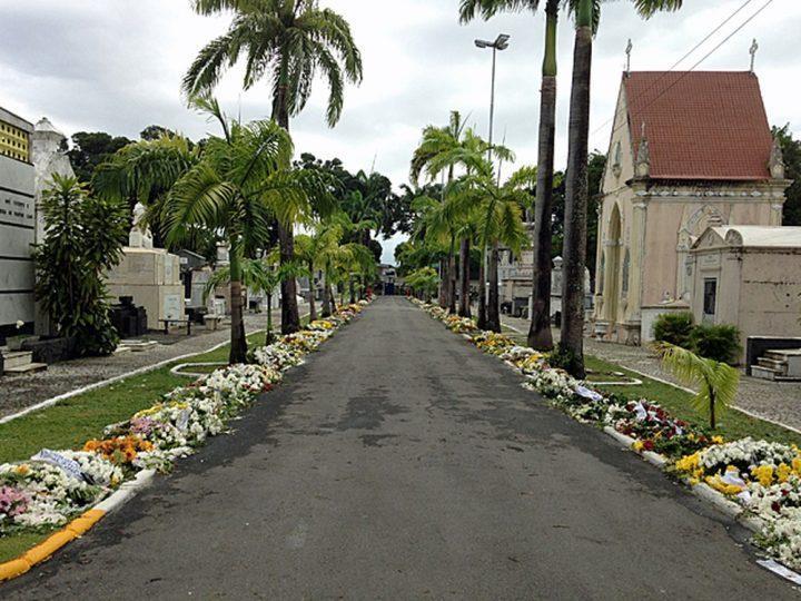 Coroa de Flores Cemitério Municipal de Pacaraima- RR