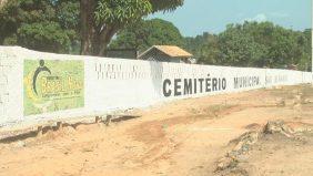 Coroa de Flores Cemitério Municipal de Brasil Novo – PA