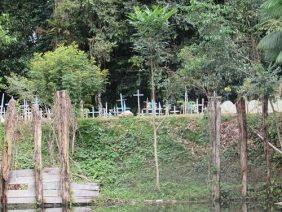 Coroa de Flores Cemitério Municipal de Curralinho- PA