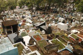 Coroa de Flores Cemitério de Brotas – Santa Isabel – SP