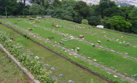 Coroa de Flores Cemitério Jardim Horto Florestal – SP