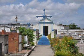 Coroa de Flores Cemitério Municipal São João Batista – RJ