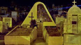 Coroa de Flores Cemitério Municipal de Itaocara – RJ