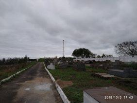 Coroa de Flores Cemitério Municipal Bom Jardim de Volta Redonda – RJ