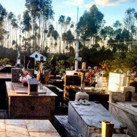 Coroa de Flores Cemitério Municipal São Francisco de Paula Trajano de Moraes – RJ