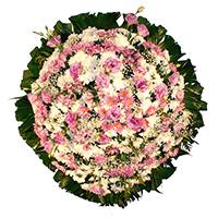 CoroaDeFlores.net - Coroa de Flores Delicada Lilás