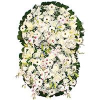 CoroaDeFlores.net - Coroa de Flores Prime Branca