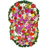 CoroaDeFlores.net - Coroa de Flores Prime Colorida