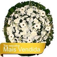CoroaDeFlores.net - Coroa de Flores Tradicional Branca