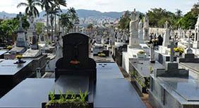 Coroa de Flores Cemitério Memorial do Alto Tietê Suzano – SP