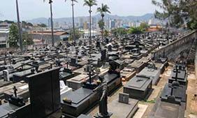 Coroa de Flores Cemitério Municipal de São José da Bela Vista- SP