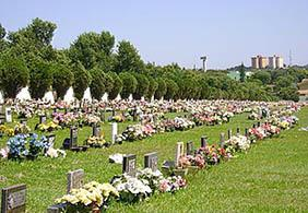Coroa de Flores Cemitério Municipal Riversul – SP