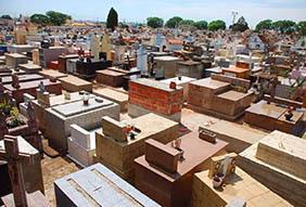 Coroa de Flores Cemitério Municipal Santa Rita D'Oeste – SP