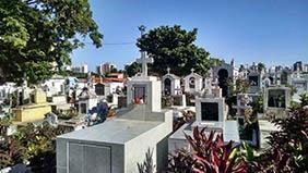 Coroa de Flores Cemitério Municipal Santópolis do Aguapeí – SP