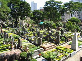 Coroas de Flores Cemitério Municipal de Santo Amaro