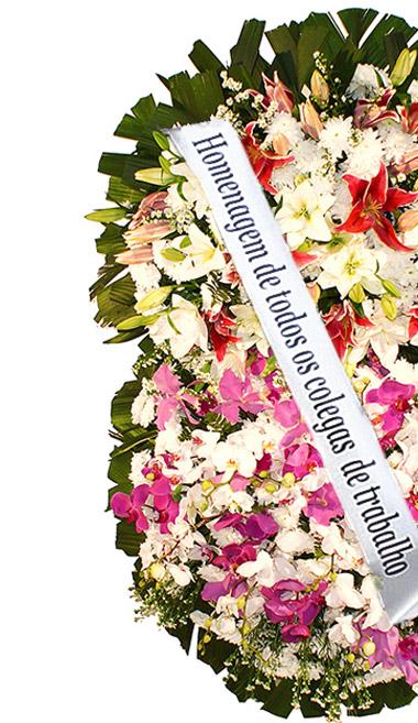 Opções de Coroas para  Cemitério Municipal de Itaquaquecetuba – Itaquaquecetuba